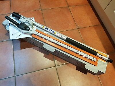 Stihl Km-Hl 145 Degree Kombi Long Reach Hedge Cutter New