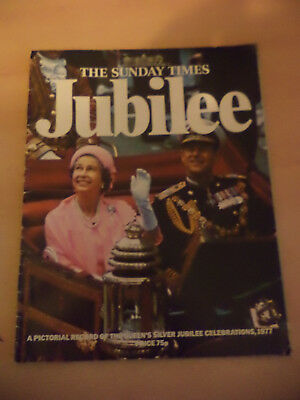 Old Vintage 1970S Sunday Times Magazine Royalty Royal Family Queen Jubilee 1977
