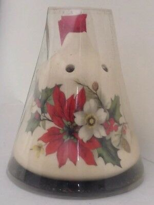 Vintage Lownds Pateman 7cm Christmas Bell Pot Pourri On Red Ribbon Still In Box