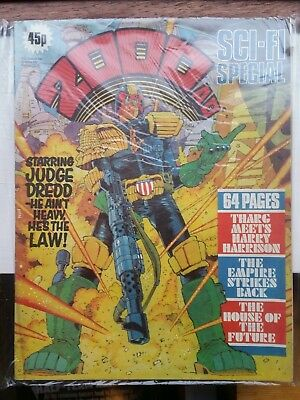 2000AD Sci-fi Special 1980 with Judge Dredd & Star Wars The Empire Strikes Back