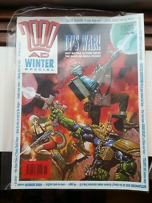 2000AD Winter Special #2 1989 with Judge Dredd & Rogue Trooper