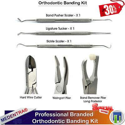 Orthodontics Molar Brackets Banding Kit Band Removal Pliers Weingart Distal End