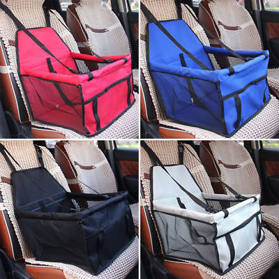 Portable Pet Car Booster Seat Puppy Cat Dog Auto Carrier Protector Safety Basket