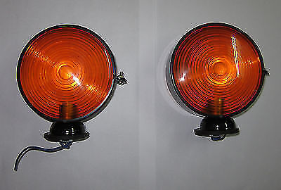 Front Indicator Lamp - Suit  Bedford Model J to TK/TM - Genuine style (ML26E)