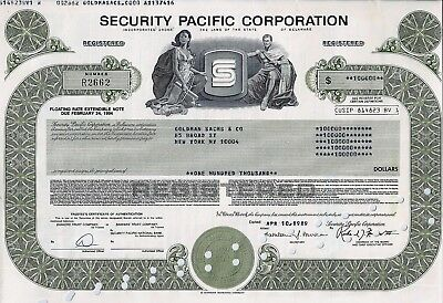 Security Pacific Corporation, 1989, Floating Rate Ext. Note due 1994 (100.000 $)