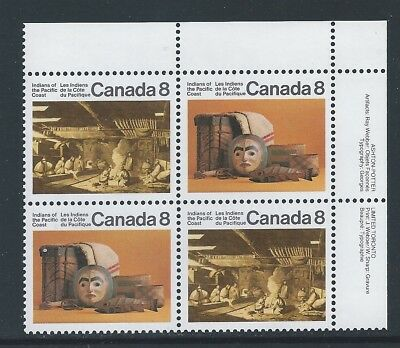 Canada #571ai UR PL BL High Fluorescent Back Paper Variety MNH **Free Shipping**