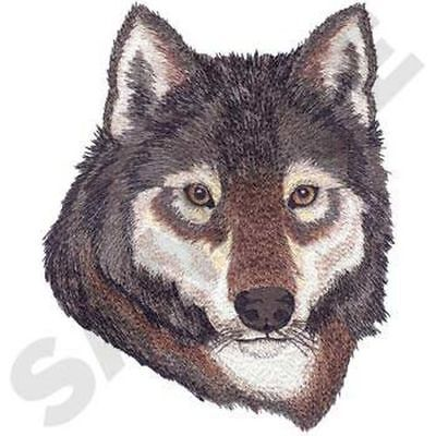 """Wolf Head, Wolves, Embroidered Patch 6.2""""x 7.8"""""""