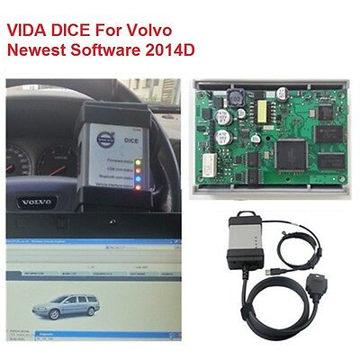 Vida Dice 2014D For Volvo Latest 2014D Full Chip Diagnostic Tool Obd2 Scanner