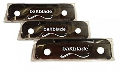 NEW! 3 PIECE SET - BaKblade BIGMOUTH Do-It-Yourself Back Shaver Replacement Set