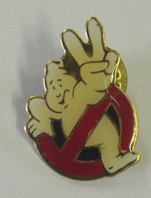 Vintage Ghostbusters Cloisonne Pin 1989