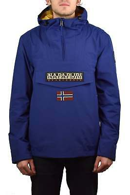3cd5a920645 NAPAPIJRI RAINFOREST SUMMER Jacket (Blue Depths) - £89.95