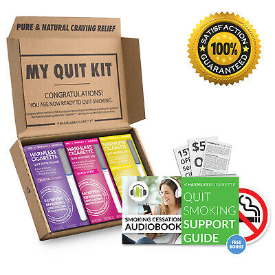Harmless Cigarette | Naturally Effective Quit Smoking Aid + Support Guide.