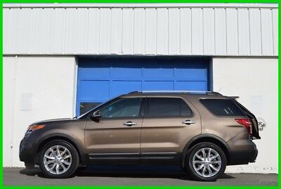 2015 Ford Explorer Limited Repairable Rebuildable Salvage Runs Great Project Builder Fixer Easy Fix Save