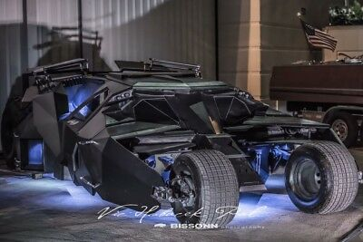 2018 Replica/Kit Makes Batmobile Carbon Fiber Batman Batmobile 1:1 Full Size Scale Drivable Only 1 in the World *Rare*