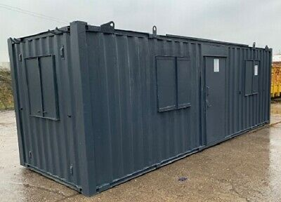 21ft x 8ft Anti Vandal Office & Canteen - BURY!! - Any Colour Available! REDUCED