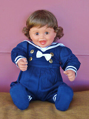 My Twinn Babies Baby Doll Sailor Outfit, Bodysuit, Shoes by Karen Williams Smith