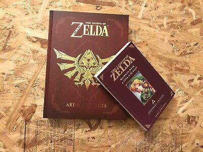 The Legend Of Zelda: Art & Artifacts Book +  (Free Manga)