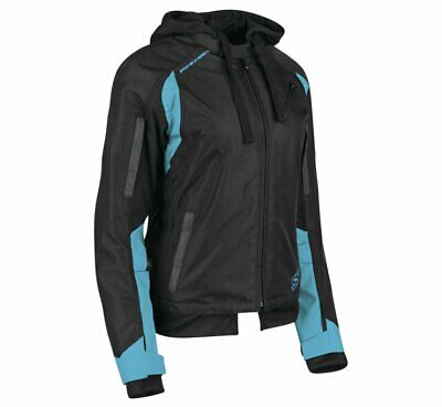 Speed & Strength Women's Spell Bound Textile Jacket Size L Teal/Black