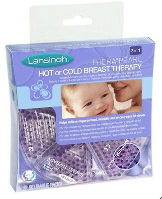 Lansinoh Therapearl 3 In 1 Breast Therapy Pack