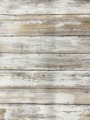 wallpaper, barn wood, weathered wood, peel and stick, brand new, neutral colors