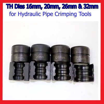 TH Dies for Hydraulic Pipe Pressing Tools  PEX Pipes with sizes 16,20,26,32mm A9
