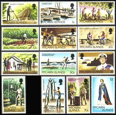 Pitcairn Definitive issue MNH ** (9)