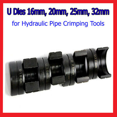 U Dies for Kinds of Hydraulic Pipe Crimping Pressing Tools 16mm, 20,25,32mm A11