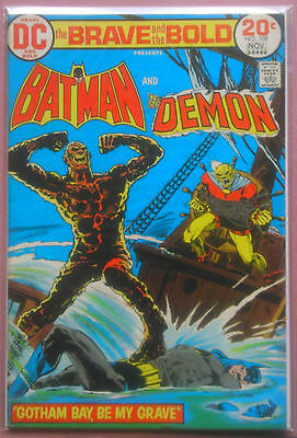 DC Comics THE BRAVE AND THE BOLD # 109 (1973) BATMAN DEMON ETRIGAN FN+