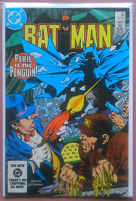DC Comics BATMAN # 374 (1984) PENGUIN DC FN+ Don Newton