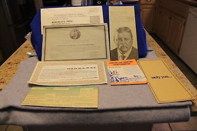 Winchester Model 94 Teddy Roosevelt Commemorative 1969 all original paperwork