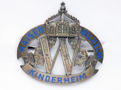 Rare German Honorary Badge of Wilhelm II Childs-Home_Wilhelm II Kinderheim