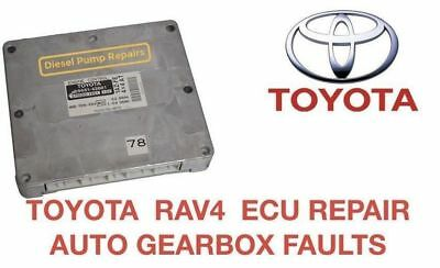 TOYOTA RAV4  ECU REPAIR SERVICE. Automatic GearBox Faults LIFETIME WARRANTY