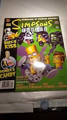 Simpsons Comics Vol 1 # 124 Oct 2006 Treehouse of Horror Special! Monsters Rock