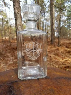 Personalized US Army Special Forces De Opresso Liber Decanter