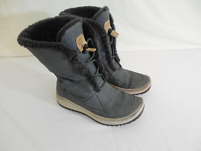 ECCO WOMENS GORA Babia Hydromax Tall Winter Boots Size US 5
