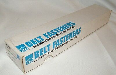 Box of Clipper Belt Lace Fasteners C1G12NY, Galvanized, 12-12 Inch W/Pins