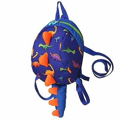 Coavas Kids Backpack with Leash Cute Dinosaur Toddler Baby Safety Harness