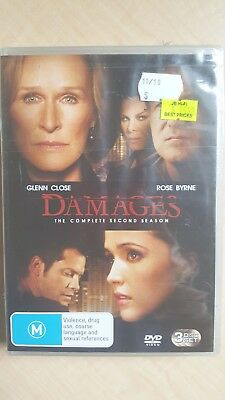 Damages : Season 2 [3 DVD Set] NEW & SEALED, Region 4, FREE Next Day Post