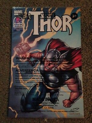. Thor Taco Bell Exclusive Edition #1 2009 Polybagged sealed