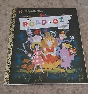 The Road to Oz- Little Golden Book- 2009 edition