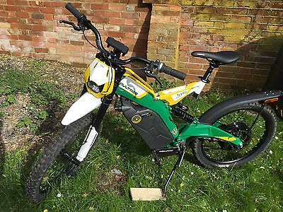 Bultaco Brinco Campera Electric Mountain Bike road legal e bike Pedelec 15mph