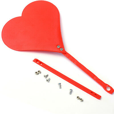 Valentines Day Heart Hand Fan (Red/Pink) Hot Gift for Anniversary Cute Gift
