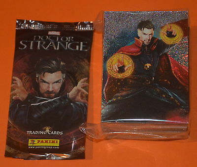Panini 2016 Marvel Doctor Strange Trading cards = FULL SET (UK Edition)