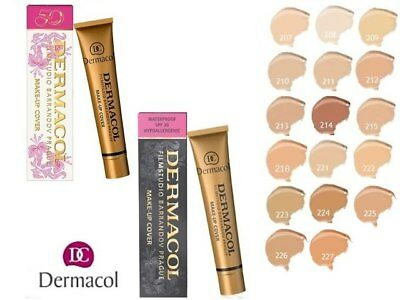 Dermacol Authentic Legendary High Covering Cover Make Up Foundation Film Studio