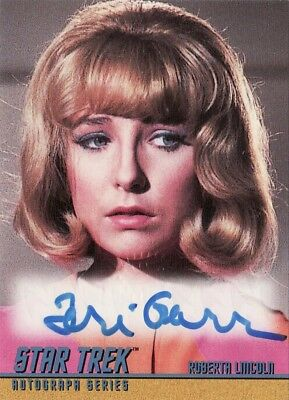 Star Trek ToS Season 2 Teri Garr as Roberta Lincoln A58 Auto Card
