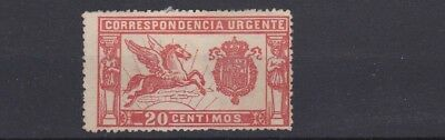 Spain 1905   Special Delivery Stamp 20C Unused No Gum