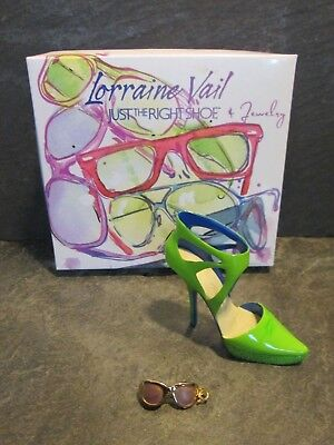 Just the Right Shoe Eye Candy 2010 Raine J091208 Lorraine Vail No COA