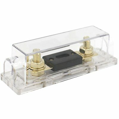 Heschen Car Audio Video Stereo ANL Fuse Holder 0 2 4 Gauge In & Out with 250Amp