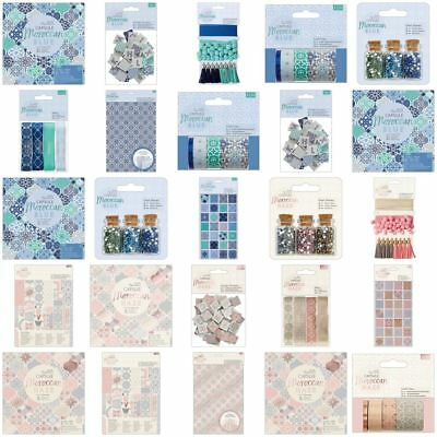 *OFFER* Moroccan Blue + Haze Papermania Capsule Craft Collections - FULL RANGE