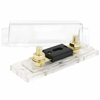 Heschen Car Audio Video Stereo ANL Fuse Holder 0 2 4 Gauge In & Out with 400Amp
